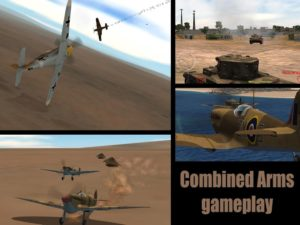 تصویر محیط Gunship Sequel: WW2 v5.1.0 + data