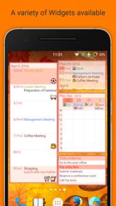 تصویر محیط Jorte Calendar & Organizer v1.9.31