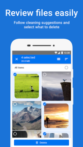 تصویر محیط Files Go by Google: Clean up space on your phone v1.0.239480827