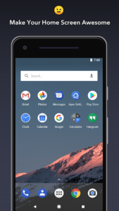 تصویر محیط Apex Launcher – Customize,Secure,and Efficient v4.9.8