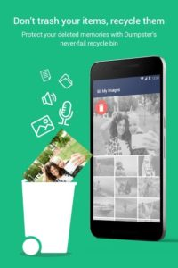 تصویر محیط Dumpster: Recover My Deleted Picture & Video Files v3.8.391.c124b