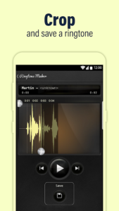 تصویر محیط Call Ringtones Maker v1.110