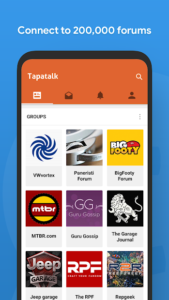 تصویر محیط Tapatalk VIP – 200,000+ Forums v8.2.5