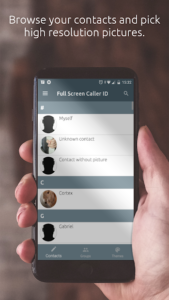 تصویر محیط Full Screen Caller ID Pro v15.1.8