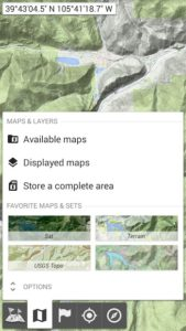تصویر محیط All-In-One Offline Maps v3.4 build 86