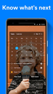تصویر محیط Any.do: To-do list, Calendar, Reminders & Planner v5.13.1.4