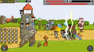 تصویر محیط Grow Castle v1.26.4