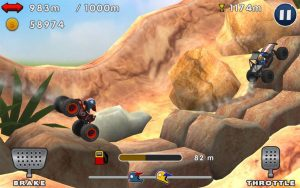 تصویر محیط Mini Racing Adventures v1.19
