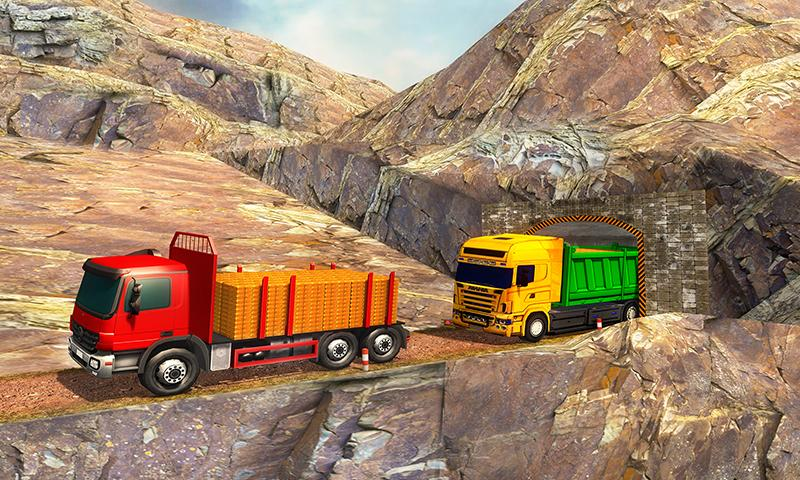 Uphill Gold Transporter Truck Drive v1.4