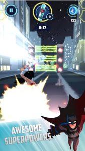 تصویر محیط Justice League Action Run v2.08 + data