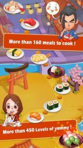 تصویر محیط Sushi Master – Cooking story v4.0.1