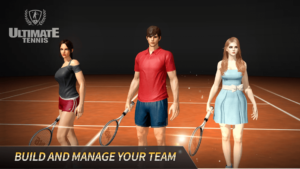 تصویر محیط Ultimate Tennis v3.10.4205