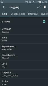 تصویر محیط Alarm clock PRO v9.3