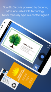 تصویر محیط ScanBizCards Premium v7.0.1
