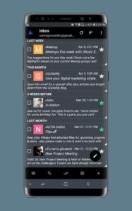 تصویر محیط Bird Mail PRO Email App v23335