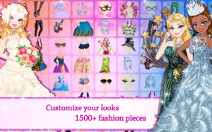 تصویر محیط Star Girl – Fashion, Makeup & Dress Up v4.2.3