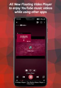 تصویر محیط Pi Music Player — For MP3 & YouTube Music v3.0.3