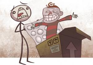 تصویر محیط Troll Face Quest Unlucky v1.7.0