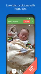 تصویر محیط Baby Monitor 3G v5.3.5