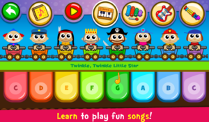 تصویر محیط Piano Kids – Music & Songs v2.30