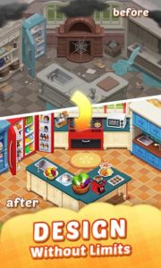 تصویر محیط Matchington Mansion: Match-3 Home Decor Adventure v1.59.1 + data