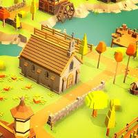 بازی ساختن شهر در یک منطقه کوهستانی آیکون