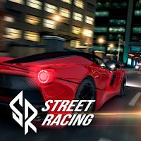 بازی مسابقه ماشینی در خیابان آیکون