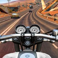 موتور سواری در بزرگراه های شلوغ آیکون