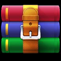 دانلود نرم افزار بازکردن و ایجاد فایل های rar  آیکون