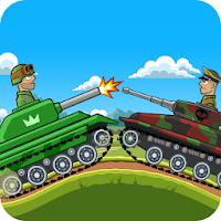بازی هدایت تانک در تپه ها و نابودی دشمن آیکون