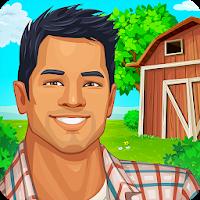 بازی مزرعه داری مزرعه بزرگ آیکون