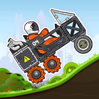 بازی مسابقه ماشین سواری در فضا آیکون