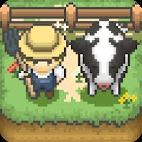 بازی مزرعه داری پیکسلی آیکون