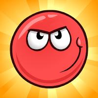 بازی پلتفرمر توپ قرمز آیکون