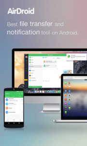 تصویر محیط AirDroid: Remote access & File v4.2.4.5