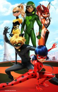 تصویر محیط Miraculous Ladybug & Cat Noir – The Official Game v4.9.60 + data