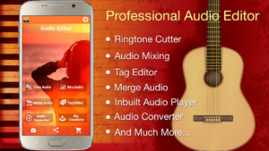 تصویر محیط Audio MP3 Cutter Mix Converter and Ringtone Maker v1.75