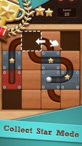 تصویر محیط Roll the Ball: slide puzzle v1.7.55