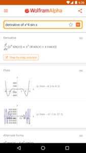 تصویر محیط WolframAlpha v1.4.16.2020081301