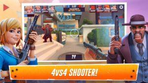 تصویر محیط Heroes of Warland – PvP Shooter Arena v1.2.0 + data