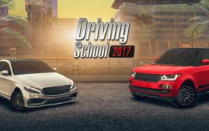 تصویر محیط Driving School 2017 v3.5 + data