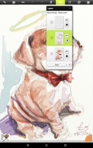 تصویر محیط ArtRage: Draw, Paint, Create v1.3.11