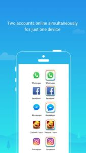 تصویر محیط Parallel Space – Multiple accounts & Two face v4.0.8782