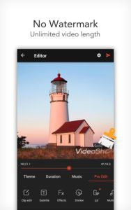 تصویر محیط VideoShow Pro -Video Editor,music,cut,no watermark v8.7.5rc