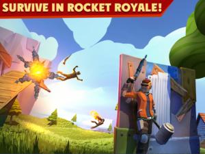 تصویر محیط Rocket Royale v2.1.9