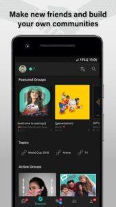 تصویر محیط Palringo Group Messenger – chat, play games & more v9.2.1