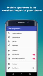 تصویر محیط Mobile operators PRO v2.12