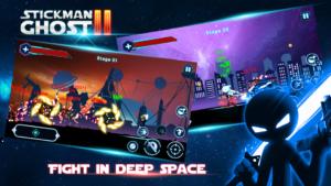 تصویر محیط Stickman Ghost 2: Galaxy Wars v6.5