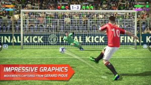 تصویر محیط Final kick 2019: Best Online football penalty game v9.0.3 + data