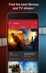 تصویر محیط CineTrak: Your Movie and TV Show Diary v0.7.57
